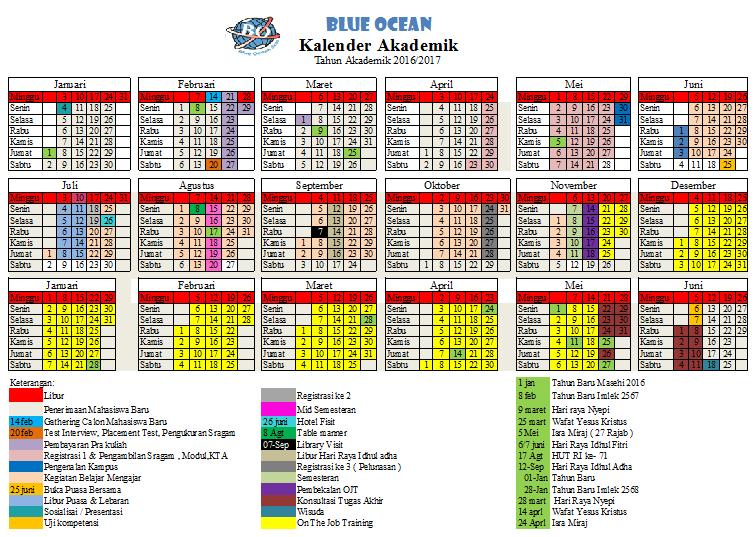 Kalender akademik 2017
